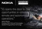 诺基亚在矿场部署 5G SA 工业级无线专网:自动化采矿,4K 视频远程控制