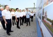 省委常委、常务副省长冯飞来善调研一体化示范区嘉善片区建设情况