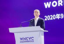 辛国斌出席2020世界新能源汽车大会