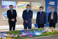 中国铁建董事长到中铁建电气化局调研