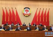 全国政协十三届常委会第十四次会议举行大会发言 汪洋出席