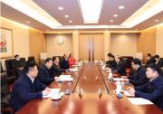 国家电网辛保安总经理与西安交通大学党委书记卢建军会谈