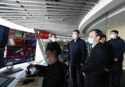 孙玉宁在上海海关调研 实地查看洋山港四期自动化码头
