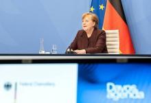 德国总理默克尔:支持中国提倡的多边主义,拒绝世界分裂