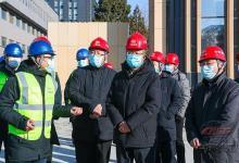 汪建平、庄尚标检查安全生产并慰问一线员工