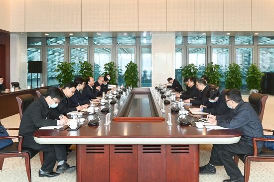 3月13日,中国华能集团有限公司党组书记、董事长舒印彪,总经理、党组副书记邓建玲在集团公司总部会见西藏自治区党委副书记、主席齐扎拉。