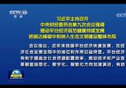 习近平主持召开中央财经委员会第九次会议