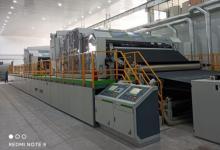 国内首条3.8米高速高杂高效智能水刺法非织造布生产线投产
