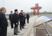 习近平在南阳市淅川县考察南水北调工程