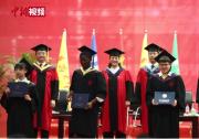 外国留学生的中国情结 痴迷诗词酷爱自动化技术