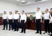 国家防总副总指挥、水利部部长李国英调研嘉兴水利防台工作