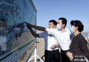 王莉霞在巴彦淖尔鄂尔多斯调研黄河流域生态保护和高质量发展等工作