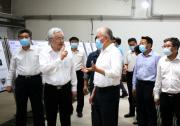 科技部党组书记、部长王志刚一行调研国机集团合肥通用院