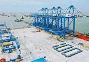 全国首个海铁联运自动化集装箱码头完成改造