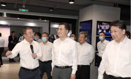 翁杰明赴中国电子所出资奇安信集团调研