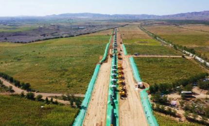 西气东输三线中段工程开工建设