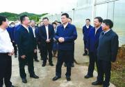 国家工信部部长肖亚庆来南充调研 罗文朱家德参加调研 刘强古正举陪同