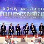 大数据时代—中国县域经济发展论坛举行
