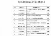 工业和信息化部关于公布第九批国家新型工业化产业示范基地名单的通知