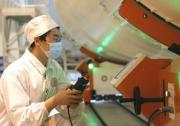 直径3.35米火箭芯级实现自动化对接