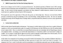 伦交所:董事会一致拒绝港交所的收购提议
