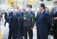 哈萨克斯坦总理出席通用技术集团中机公司新产品线开工仪式
