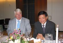 人物 丹佛斯CEO雍根柯劳森等在丹麦会见北京市委书记刘淇