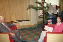 人物 丹佛斯全球总裁雍根柯劳森先生参加2005年北京《财富》全球论坛