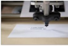 Bond手写机器人可完美模仿真人笔