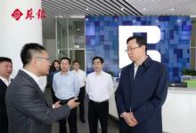 苏州市委书记蓝绍敏专题调研工业互联网发展