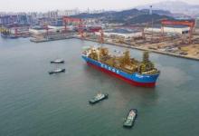 """我国最大作业水深FPSO""""海洋石油119""""交付启航"""