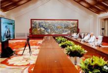 蔡奇云会见瑞士ABB集团董事长 表示将为外企提供优质服务