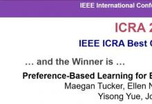 清华航院助理教授眭亚楠获得2020年机器人与自动化国际会议(ICRA)最佳论文奖