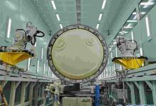 航天科技八院149厂低温贮箱绝热层自动磨削技术成功应用于运载火箭